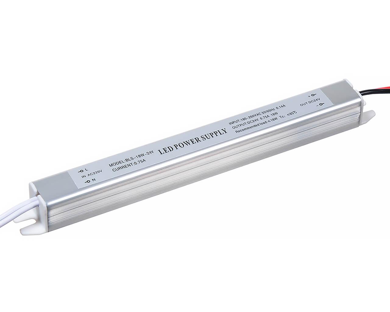Блок питания LC-K18W-24V 0,75 А (карандаш 172*18*18)