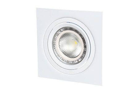 Карданный светильник под лампу AR111*1 с цоколем G53
