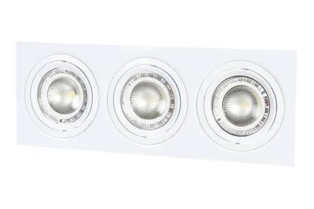 Карданный светильник под лампу AR111*3L с цоколем G53