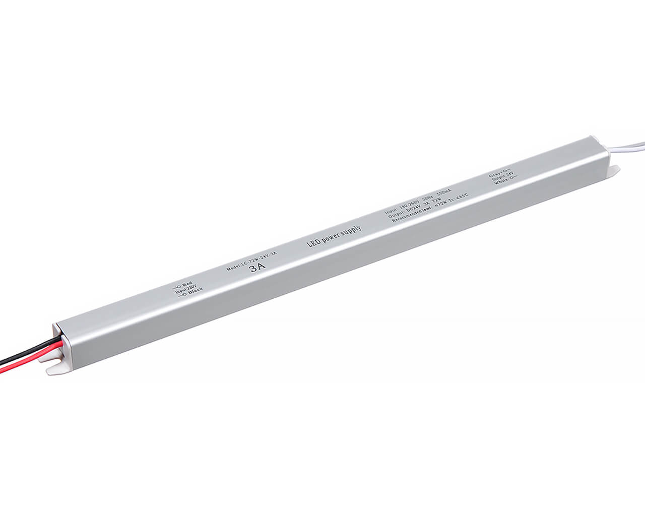 Блок питания LC-K72W-24V 3А (карандаш 372*18*18)