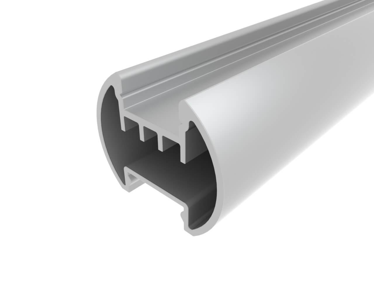Профиль алюминиевый круглый LC-LKS-2328-2 Anod