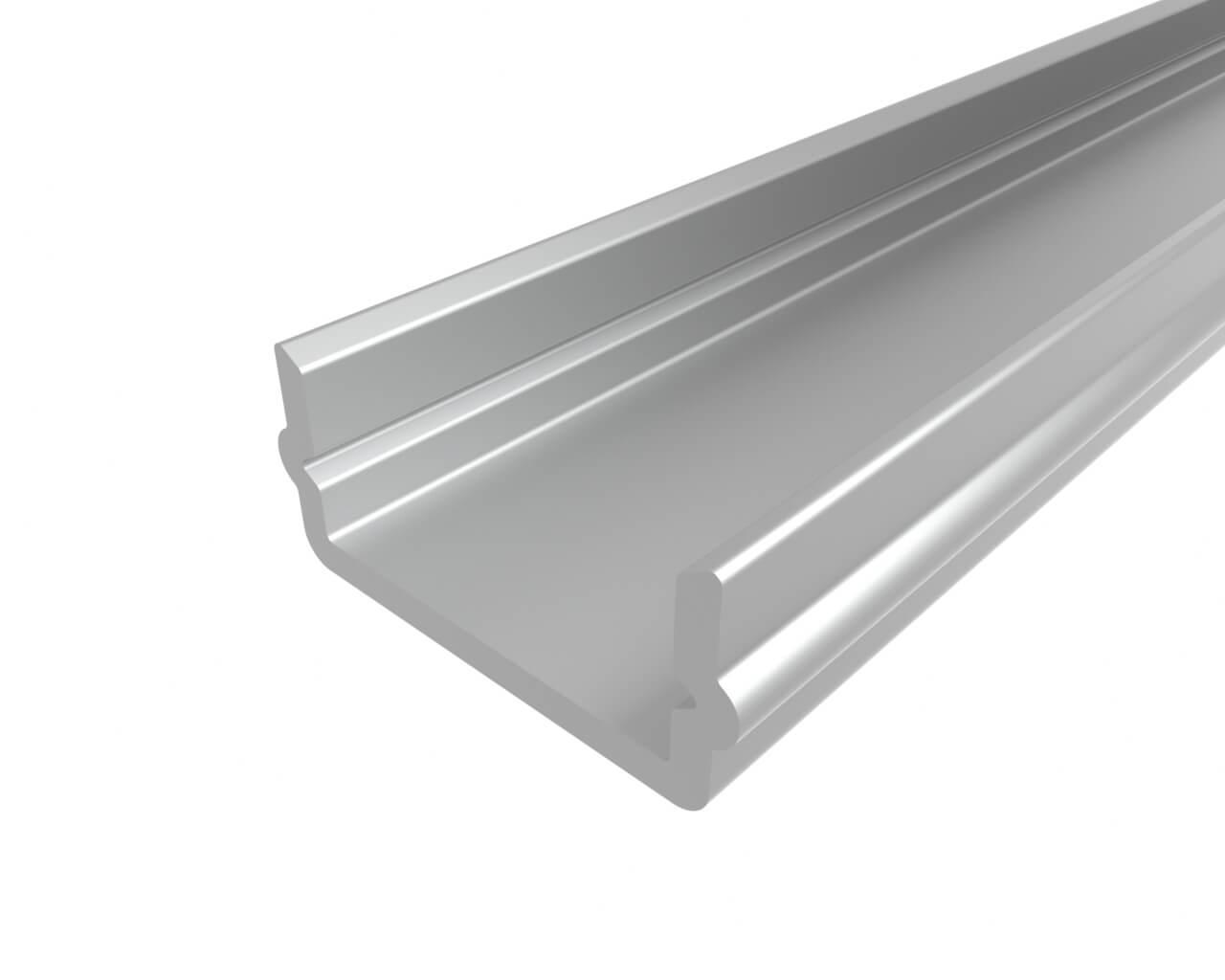 Профиль накладной алюминиевый LC-LP-0616-2 Anod