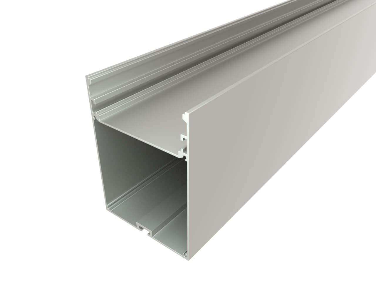 Профиль накладной алюминиевый LC-LP-10074-2 Anod