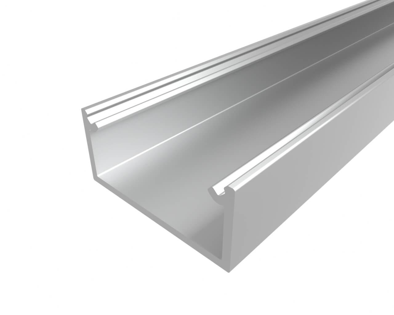 Профиль накладной алюминиевый LC-LP-1022-2 Anod