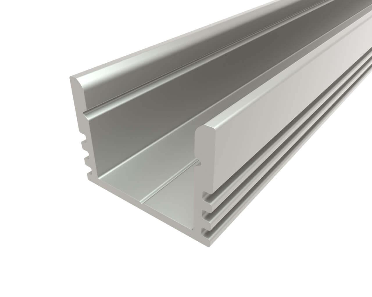 Профиль накладной алюминиевый LC-LP-1216-2 Anod