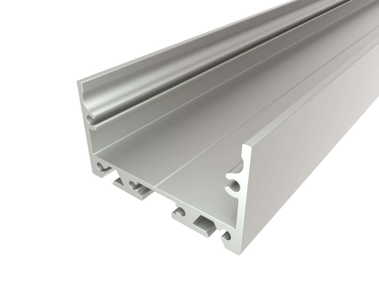 Профиль накладной алюминиевый LC-LP-2035-2 Anod