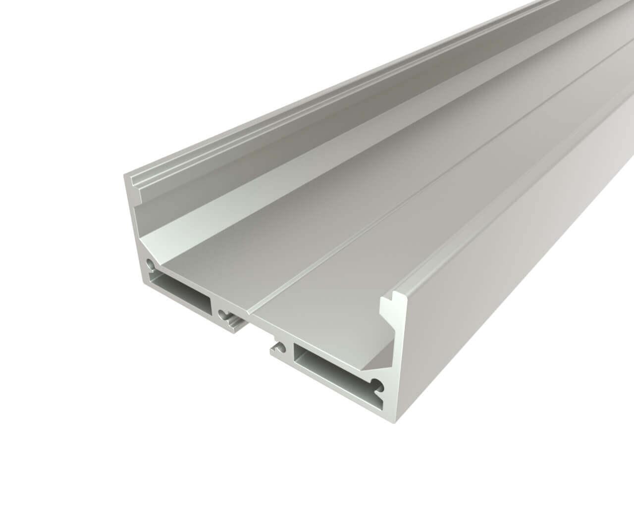 Профиль накладной алюминиевый LC-LP-2050-2 Anod