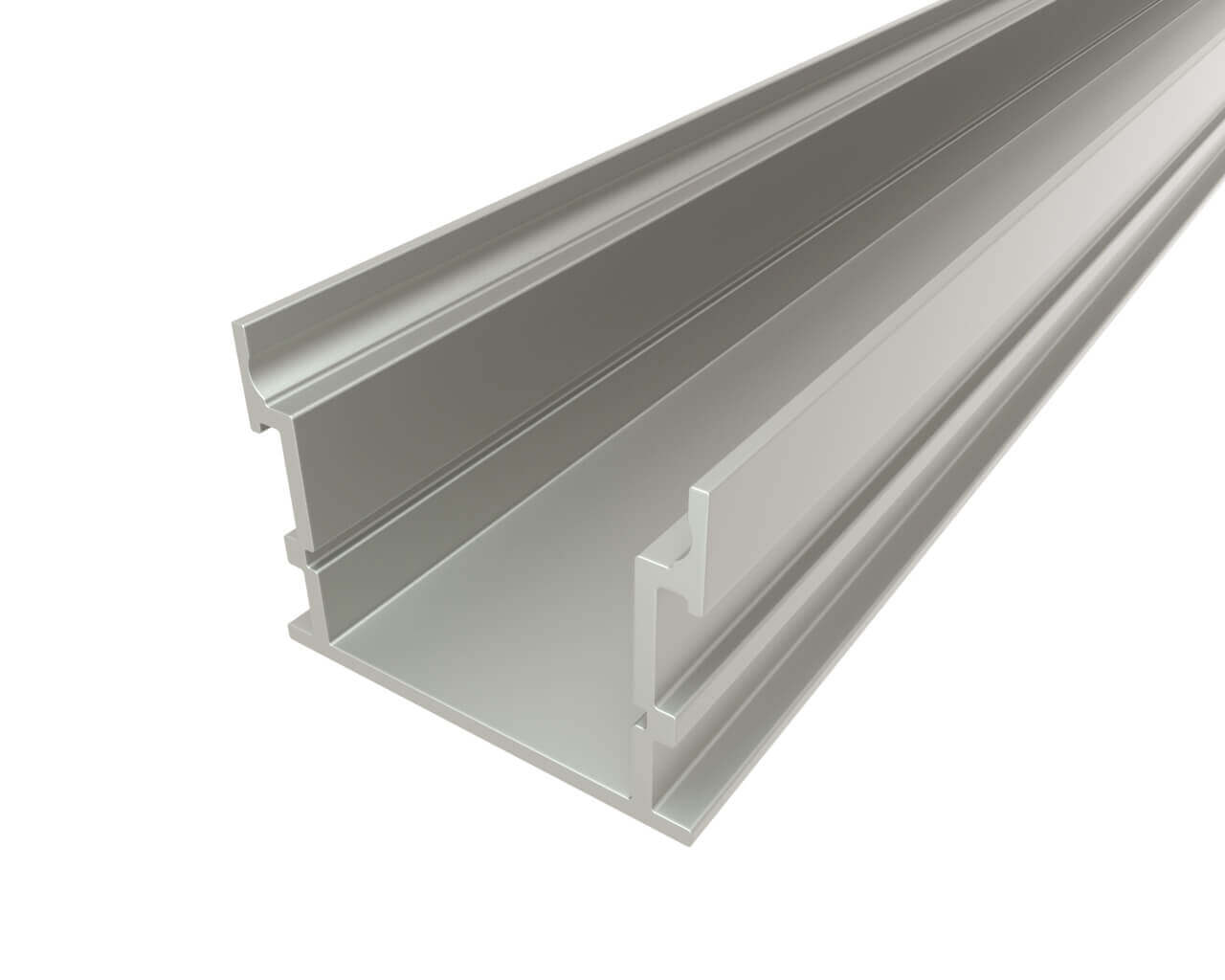 Профиль накладной алюминиевый LC-LP-2635-2 Anod