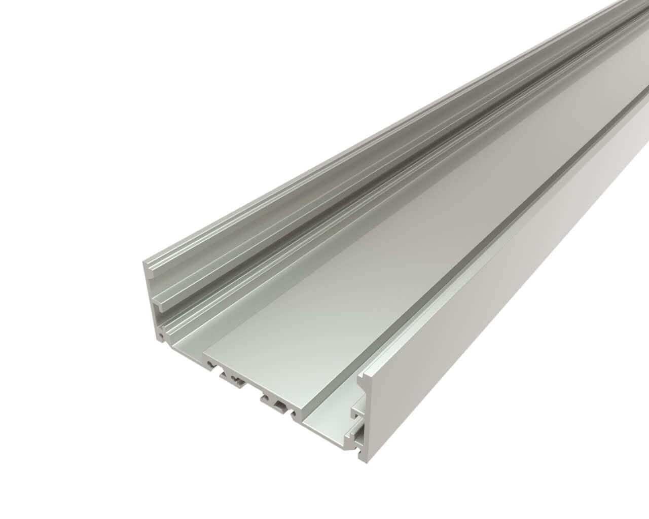 Профиль накладной алюминиевый LC-LP-2774-2 Anod