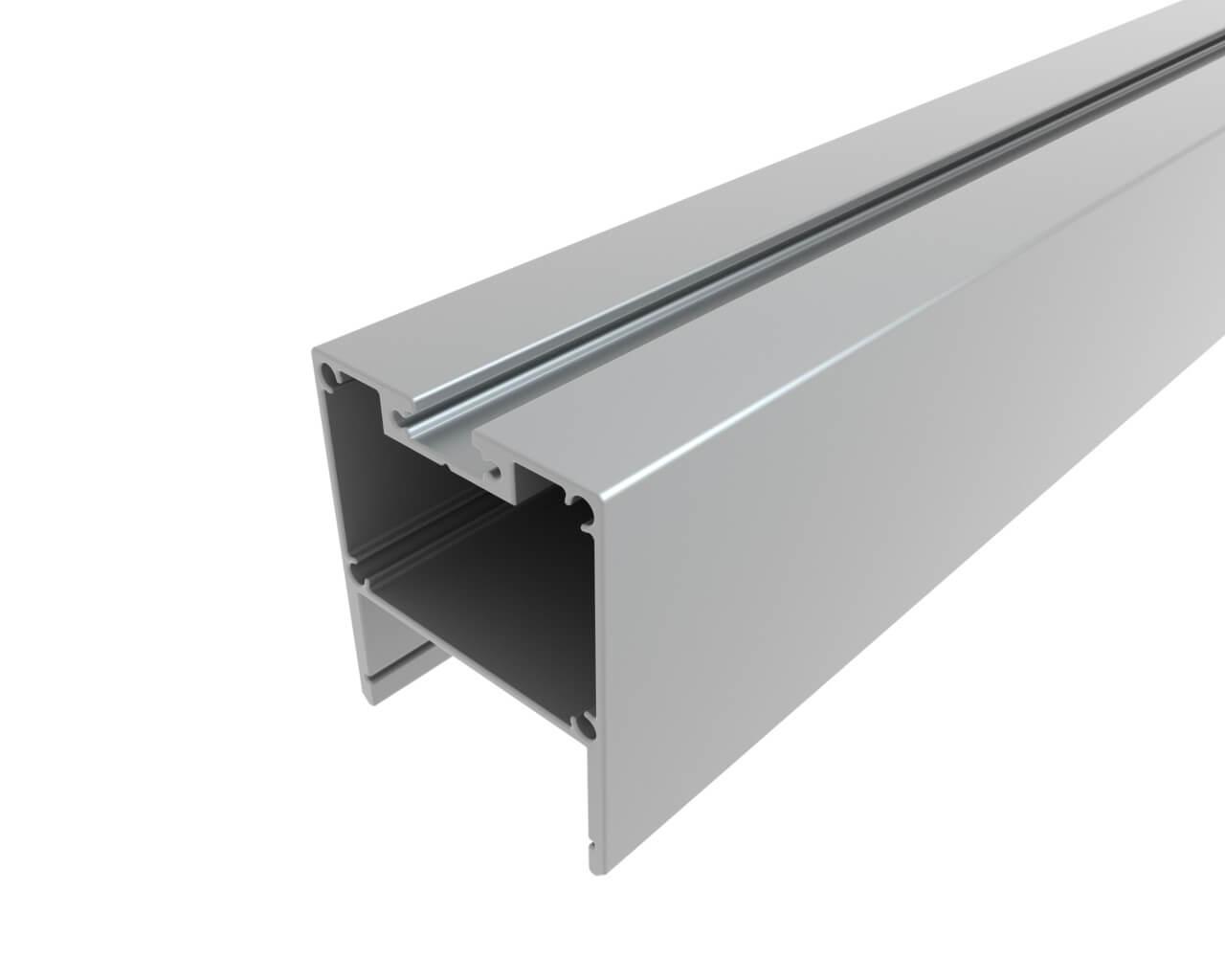 Профиль накладной алюминиевый LC-LP-4034-2 Anod