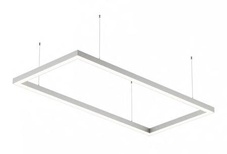 Светодиодный светильник Ledcraft LC-LP-5050 240W 382*2067 мм Опал Теплый белый