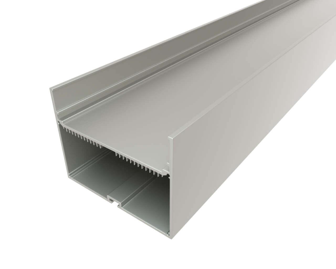 Профиль накладной алюминиевый LC-LP-76100-2 Anod