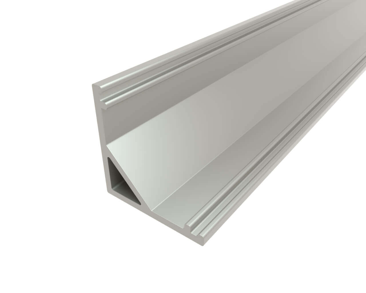 Профиль угловой алюминиевый LC-LPU-1616-2 Anod