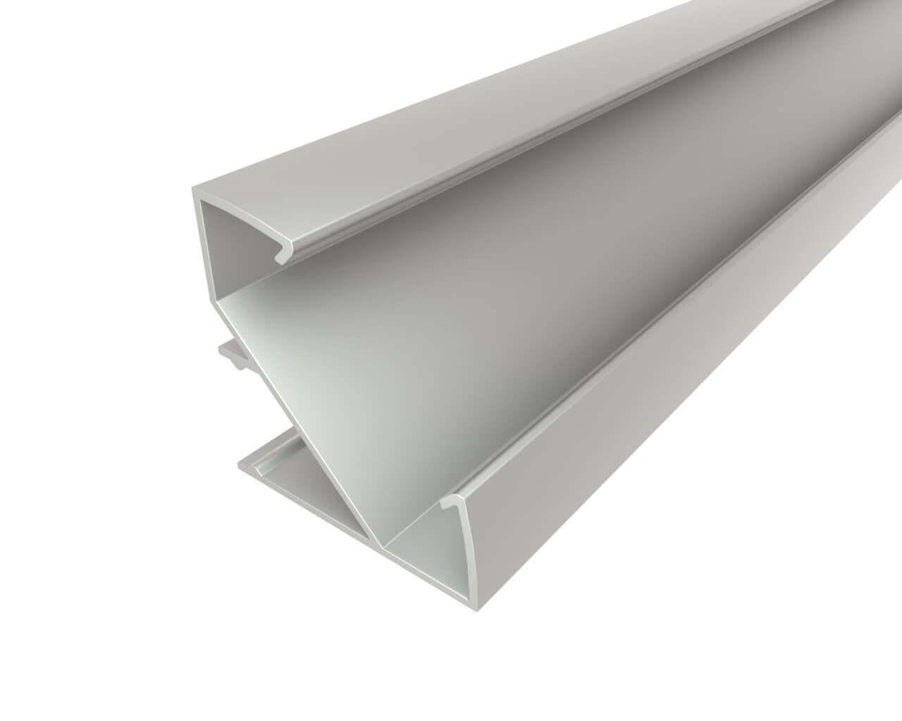 Профиль угловой алюминиевый LC-LPU-3333-2 Anod