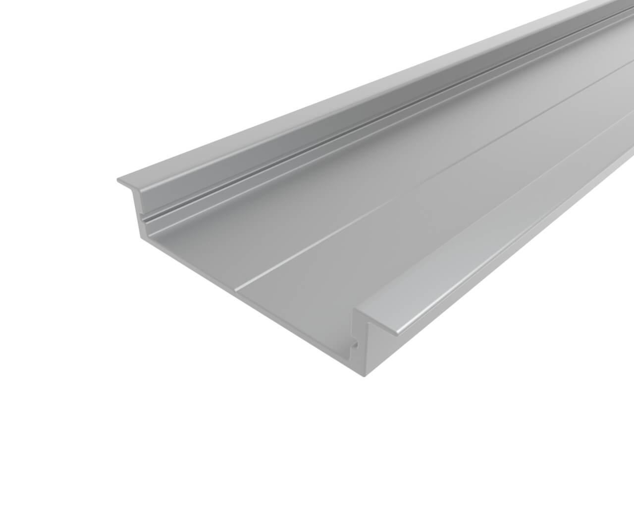 Профиль врезной алюминиевый LC-LPV-0740-2 Anod