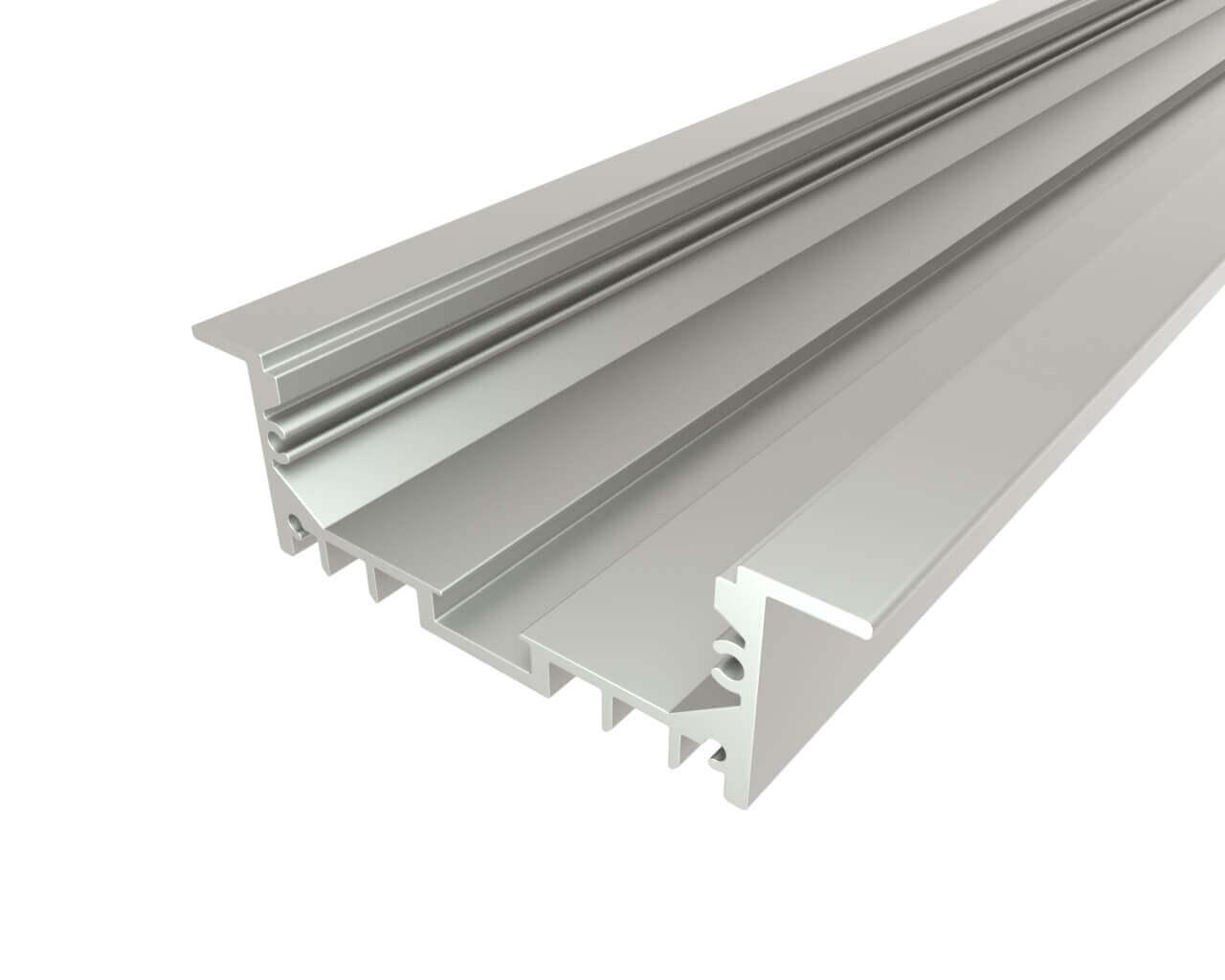 Профиль врезной алюминиевый LC-LPV-2063-2 Anod