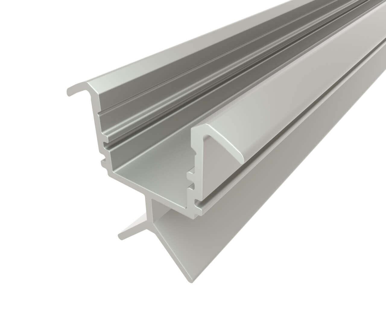 Профиль алюминиевый для перил LC-LPV-2223-2 Anod