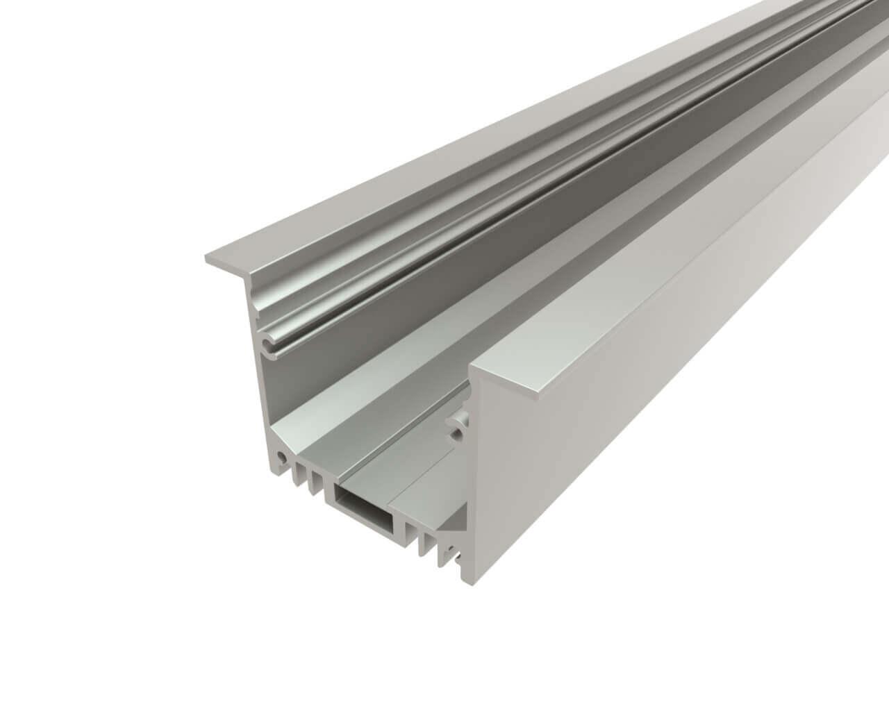 Профиль врезной алюминиевый LC-LPV-3250-2 Anod
