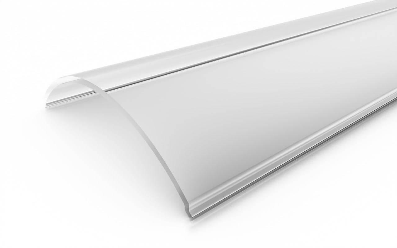 Рассеиватель прозрачный поликарбонат LC-LRM-40-6
