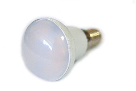 Светодиодная лампа LEDcraft R39 патрон Е14 3 Ватта Теплый белый
