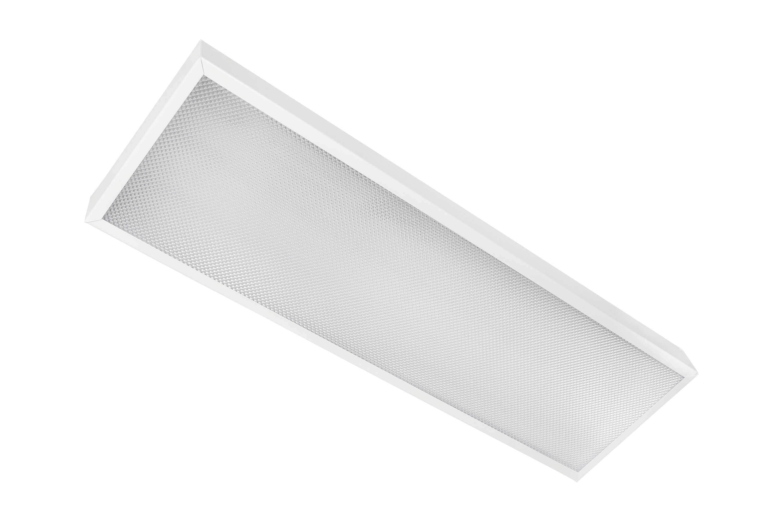 Накладной офисный светодиодный светильник 40 Вт 595x180 6000К IP20 Призма