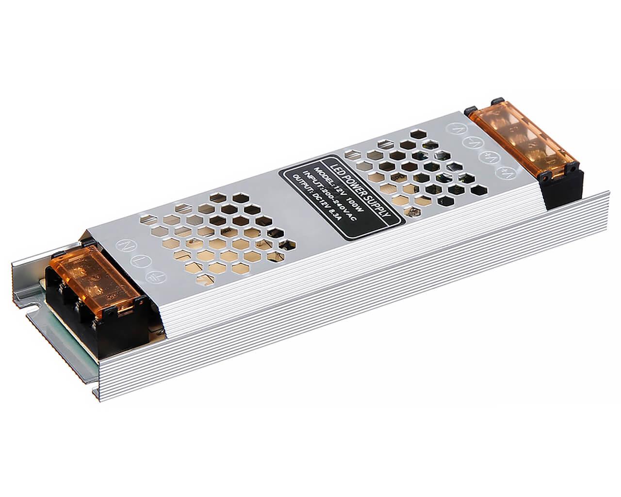 Блок питания LC-N100W-12V 8,3А (тонкий 188*46*36)
