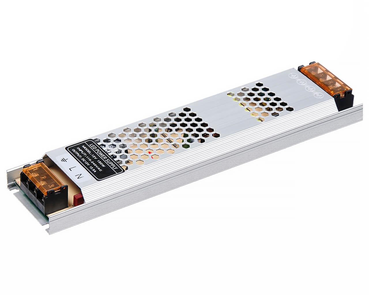Блок питания LC-N150W-12V 12,5А (тонкий 200*58*40)