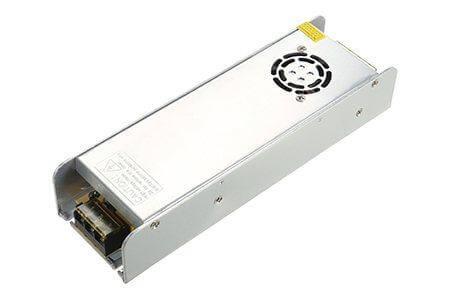 Блок питания LC-N360W-24V 15А с вентилятором (тонкий 223*67*40)