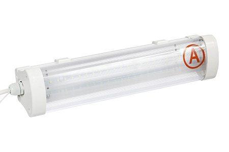 Светодиодный светильник Ledcraft LC-NK05-20WW IP65 (310 мм) с БАП-3 прозрачный Теплый белый