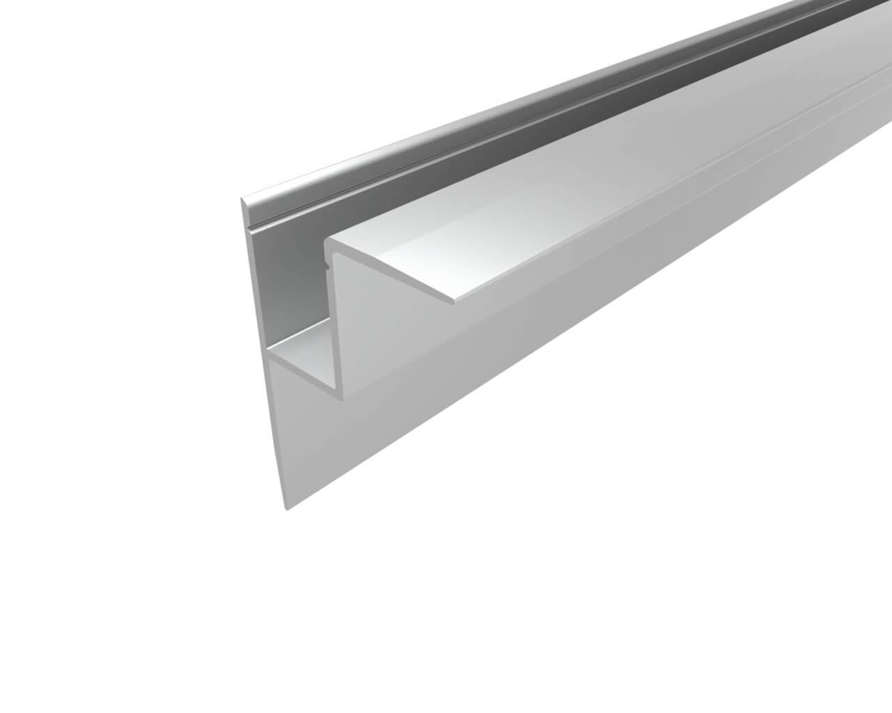 Профиль накладной алюминиевый LC-NKU-4532-2 Anod