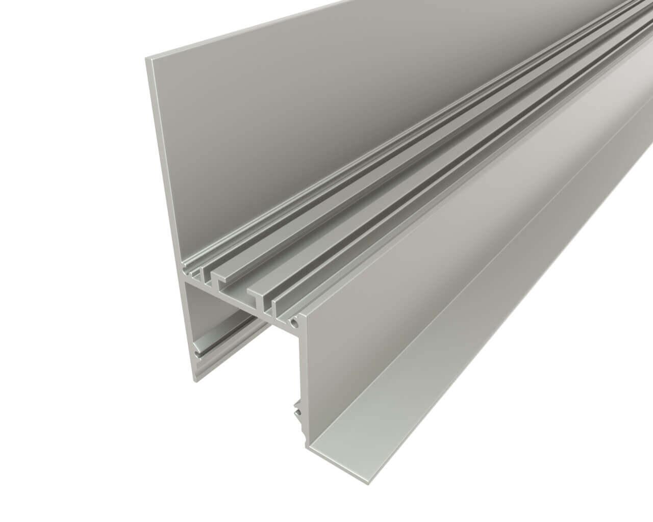 Профиль накладной алюминиевый LC-NKU-7650-2 Anod