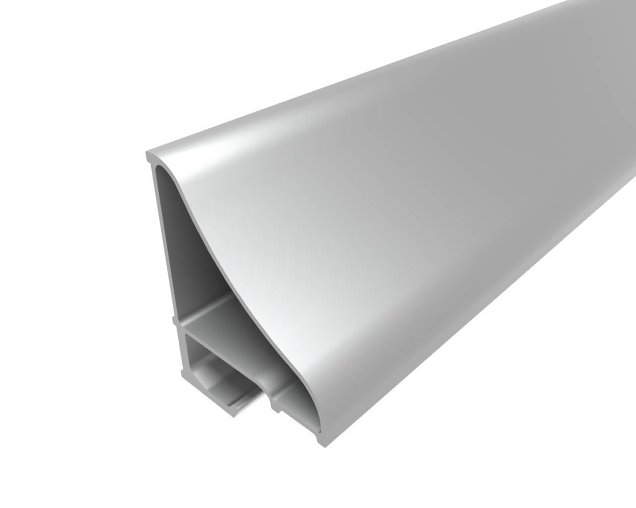 Профиль накладной для полок LC-NP-4535-2 Anod