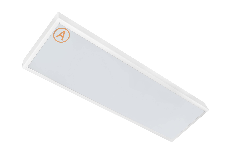 Накладной светильник LC-NS-20-OP-WW ватт 200x600 Теплый белый Опал с Бап-3 часа