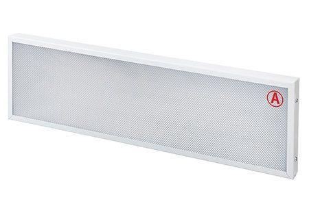 Накладной светильник LC-NS-40K ватт 595x180 Нейтральный Призма Бап 3 часа