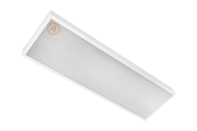 Накладной светильник LC-NS-40K ватт 595x180 Холодный белый Призма Бап 3 часа