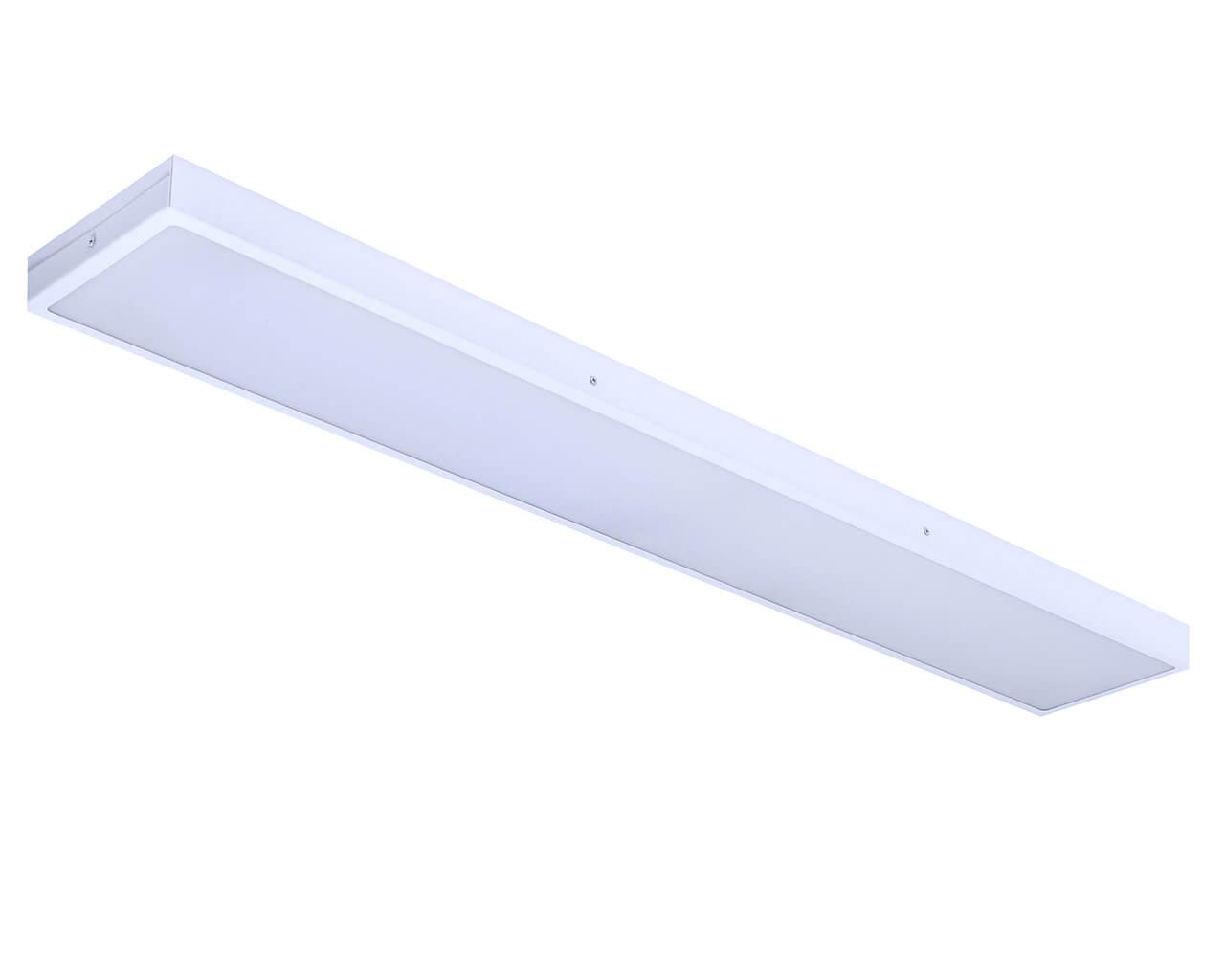 Накладной светильник LC-NS-SIP65-80-OP 1195*180 IP65 Теплый белый Опал