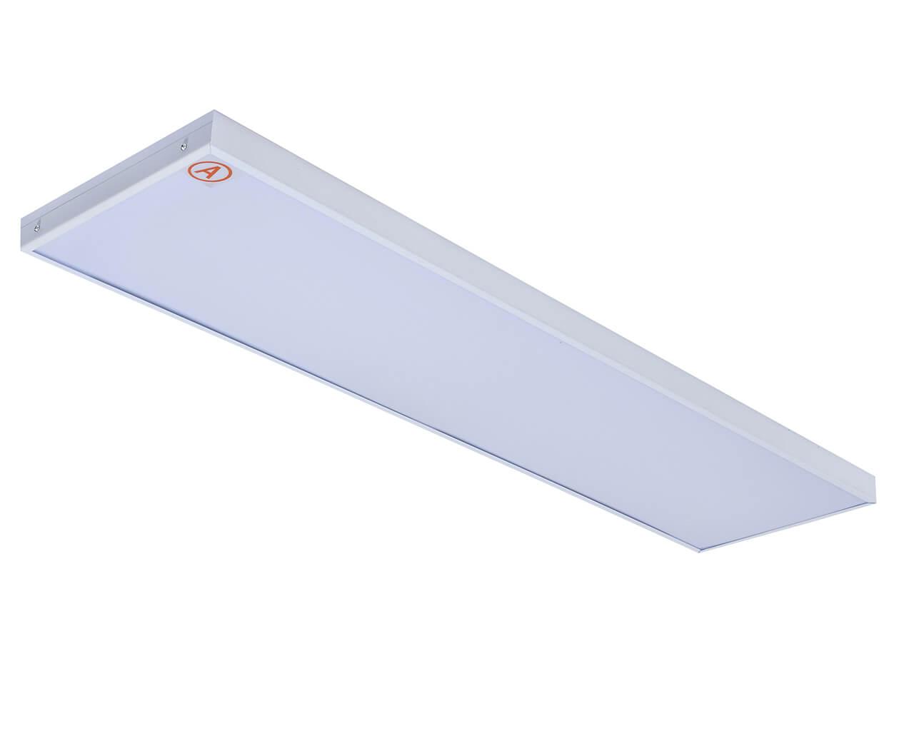 Накладной светильник LC-NSM-40-OP-WW ватт 1195x295 Теплый белый Опал Бап 3 часа