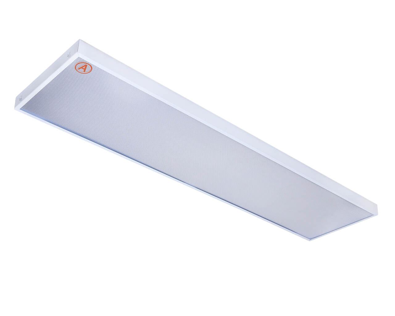 Накладной светильник LC-NSM-40 ватт 1195x295 Теплый белый Призма Бап 3 часа