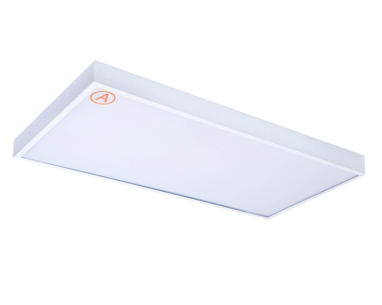 Накладной светильник LC-NSM-40K-OP-WW ватт 595x295 Теплый белый Опал Бап 3 часа