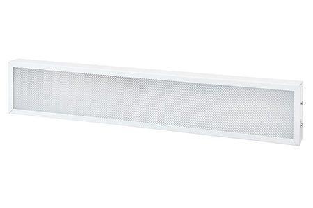 Универсальный офисный светодиодный светильник узкий 10 Вт 595x110 4000K IP44 Призма