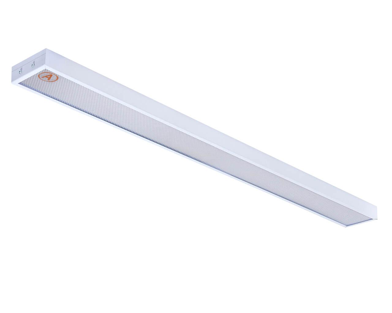 Накладной светильник узкий LC-NSU-40 ватт 1195x110 Теплый белый Призма Бап 3 часа