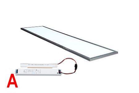 Светодиодная панель Ledcraft LC-PN-12030-38W-G-BAP 1200x300 мм, 38W Серый, 6000-6500 к