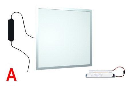 Светодиодная панель Ledcraft LC-PN-6060-38W-G-BAP 600x600 мм, 38W Cерый, 6000-6500 к
