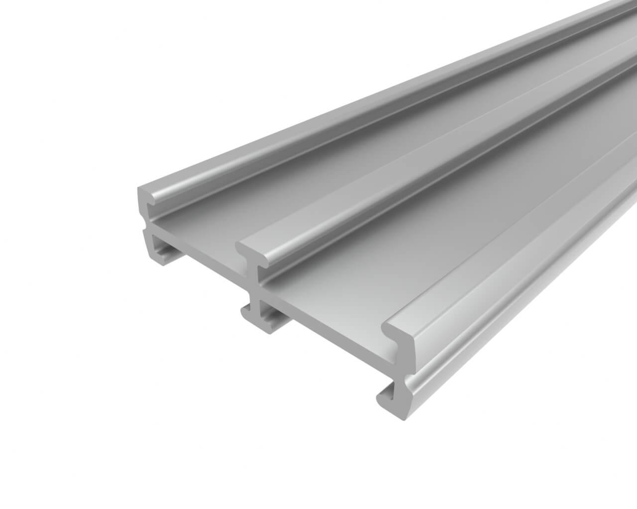 Алюминевый профиль LC-R-0624-2 Anod пластина радиатор