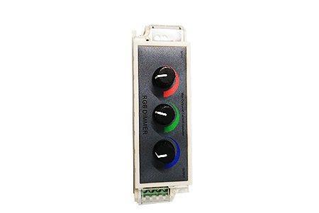 RGB диммер поворотный LEDcraft LC-DP-004 12/24V 108/216W 3А