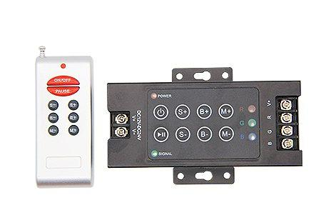 RGB RF8К контроллер LEDcraft 8 кнопок 12/24v 360/720w 10А