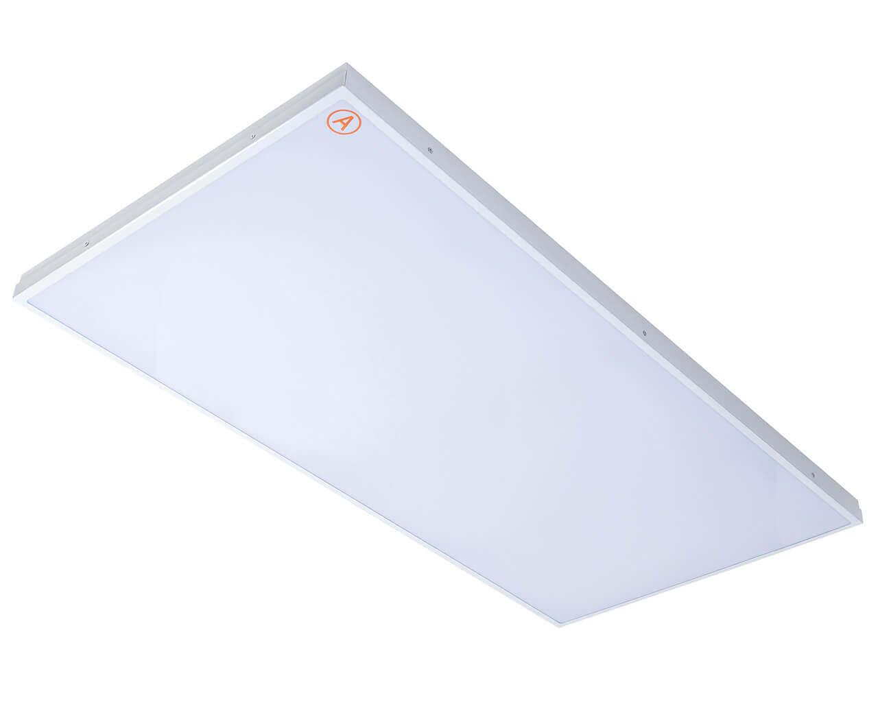 Универсальный светильник LC-SIP-120 ватт 1195x595 IP65 Теплый белый Опал с Бап 3 часа
