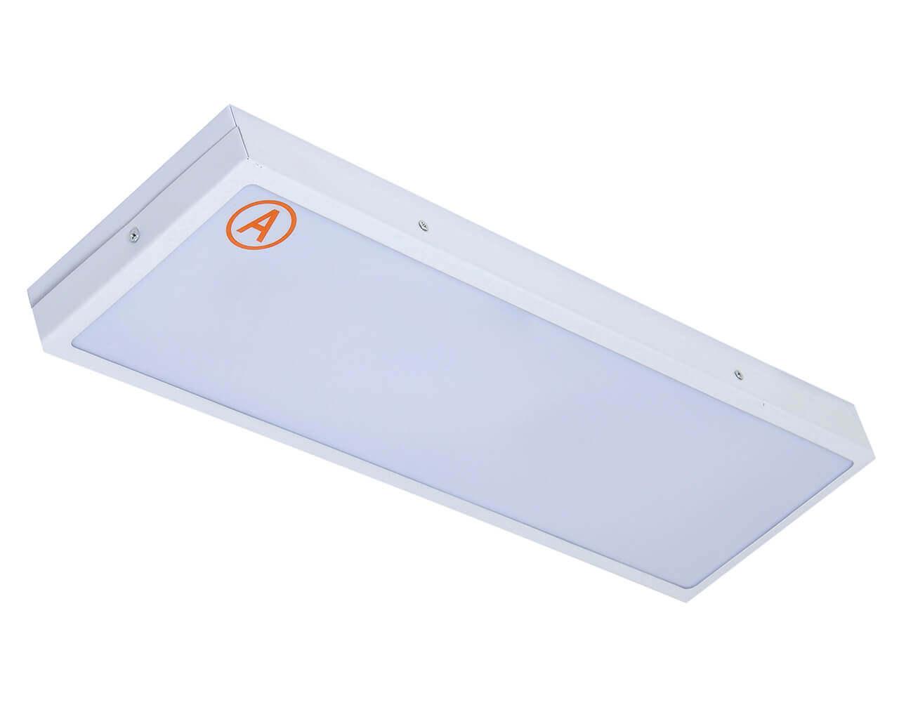 Накладной светильник LC-SIP-20-OP 595x180 IP65 Теплый белый Опал с Бап 3 часа