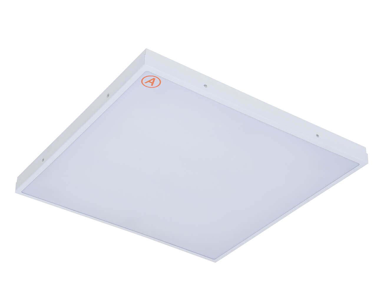 Встраиваемый светильник LC-SIP-40-OP 595x595 Теплый белый Опал с Бап-3 часа