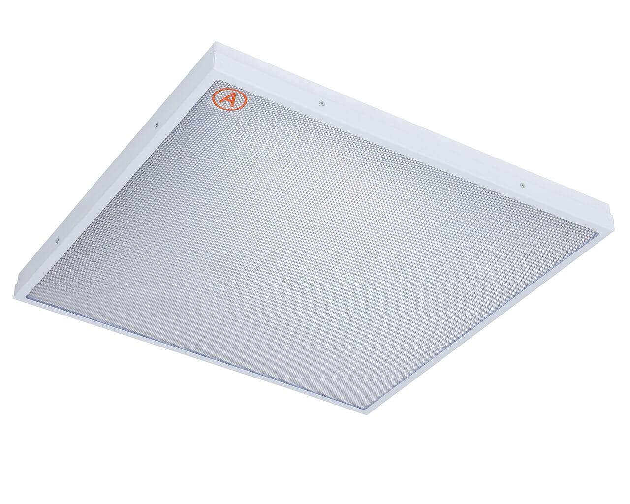 Встраиваемый светильник LC-SIP-40 595x595 Теплый белый Призма с Бап-3 часа